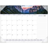 At-A-Glance Panoramic Landscape Monthly Desk Pad