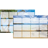 At-A-Glance Erasable/Reversible Horizontal Wall Planner