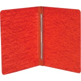 "ACCO® PRESSTEX® Report Covers, Side Binding for Letter Size Sheets, 3"" Capacity, Executive Red"
