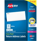 Avery&reg Easy Peel® Return Address Labels with Sure Feed™ Technology