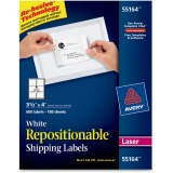 Avery® Shipping Labels - Sure Feed - Repositionable