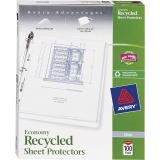 Avery® Economy Recycled Sheet Protectors - Acid-free, Archival-Safe, Top-Loading