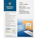 Business Source Bright White Premium-quality Address Labels
