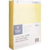 Business Source Micro-Perforated Legal Ruled Pads