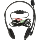 Compucessory Lightweight Stereo Headphones with Mic