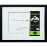 DAX FSC Certified Black Wooden Frame