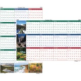 House of Doolittle Earthscapes Scenic Wipe-off Wall Planner