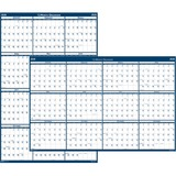"House of Doolittle Dated 66"" Laminated Wall Planner"