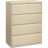 HON Brigade 800 Series 4-Drawer Lateral