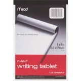 Mead Plain Writing Tablet