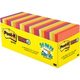 "Post-it® Super Sticky Notes, 3"" x 3"", Marrakesh Collection Cabinet Pack"