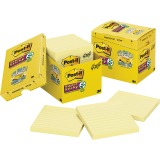 Post-it® Super Sticky Lined Notes Cabinet Pack