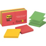 "Post-it® Super Sticky Pop-up Notes, 3""x 3"", Marrakesh Collection"