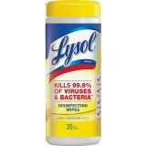 Lysol Lemon/Lime Disinfect Wipes, Limit 2 per Customer