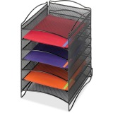 Safco 6-Compartment Mesh Desktop Organizer