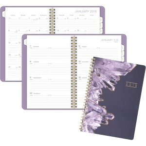 At-A-Glance Cambridge Crystal Weekly/Monthly Planner