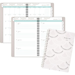 At-A-Glance Serene Scallops Weekly/Monthly Planner