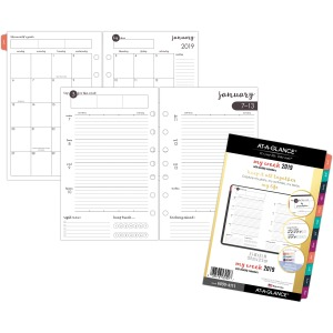 At-A-Glance Harmony Weekly/Monthly Planner Refill