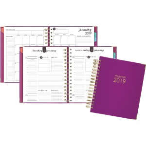 At-A-Glance Harmony Berry Cover Daily Planner
