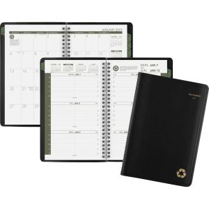 At-A-Glance 100% Recycled Weekly/Monthly Appointment Book