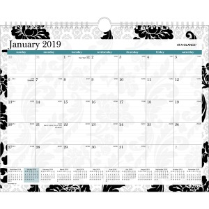 At-A-Glance Madrid Monthly Wall Calendar