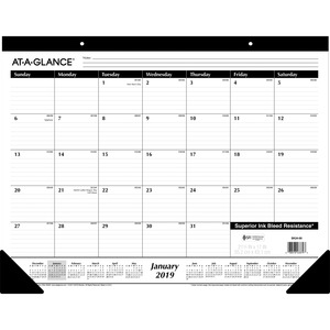 At-A-Glance Classic Monthly Desk Pad