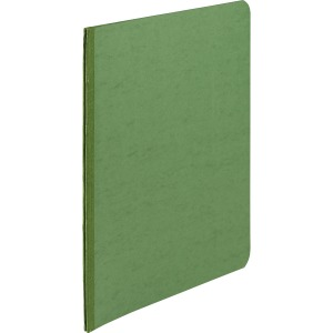 "ACCO® PRESSTEX® Report Covers, Side Binding for Letter Size Sheets, 3"" Capacity, Dark Green"