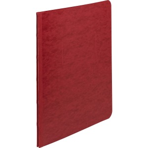 "ACCO® Pressboard Report Covers, Side Binding for Letter Size Sheets, 3"" Capacity, Executive Red"