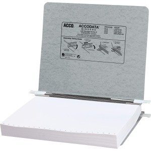 "Acco 11""x 8-12"" Presstex Data Binders wStg Hooks"