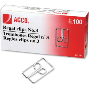 Acco Regal Clips