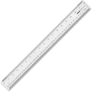 Westcott See-Through Acrylic Rulers