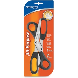 "Westcott 8"" All-purpose Bent Scissors"