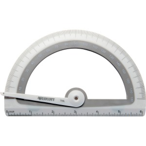 Westcott Microban Antimicrobial Student Protractor