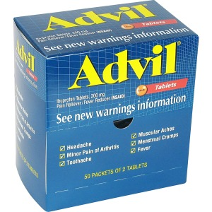 Advil Pain Reliever Single Packets