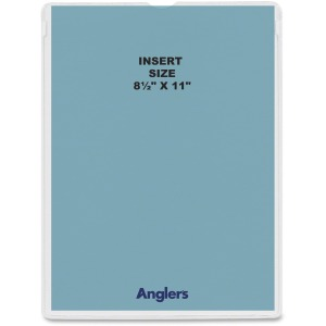 Anglers Self-stick Crystal Clear Poly Envelopes