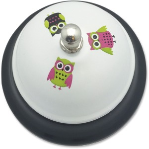Ashley White Owls Call Bell