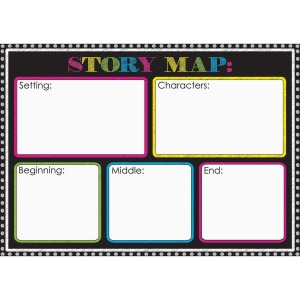 Ashley Magnetic Story Map Board