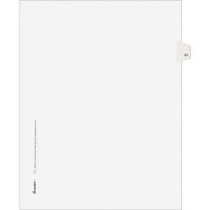 Avery&reg Individual Legal Exhibit Dividers - Avery Style