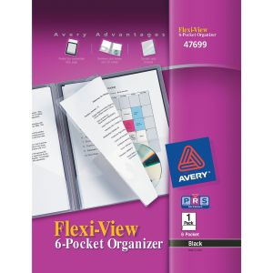 Avery Flexi-View Six Pocket Organizer