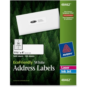 Avery EcoFriendly Address Labels