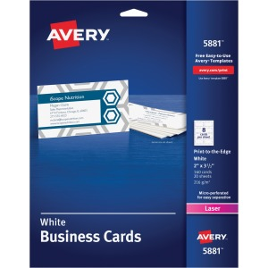 Avery® Laser Business Card