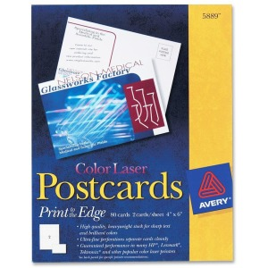 Avery® Laser Invitation Card