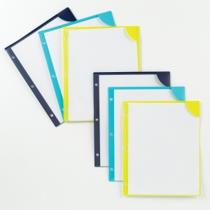 Avery® Corner Lock Plastic Folders