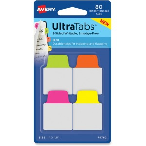 Avery&reg UltraTabs Repositionable Mini Tabs
