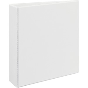"Avery® Heavy-Duty View Binder, 2"" One-Touch EZD(R) Rings, 540-Sheet Capacity, DuraHinge(R), White (79192)"