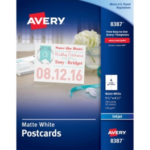 Avery® Inkjet Invitation Card
