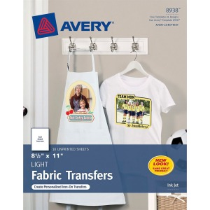 Avery® Inkjet Print Iron-on Transfer Paper