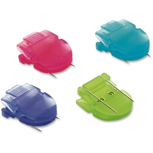 Advantus Brightly Colored Panel Wall Clips