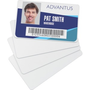 Advantus Blank PVC ID Cards
