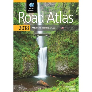 Rand McNally North American Road Atlas Reference Printed Book - English